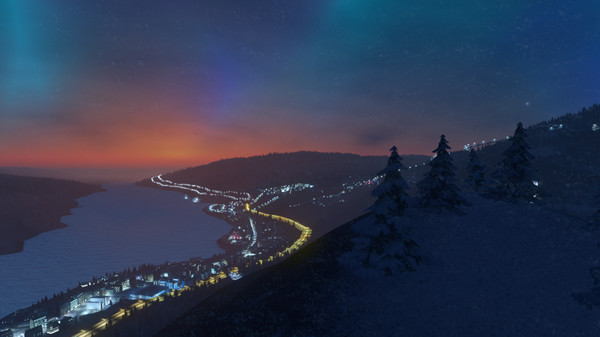 Skylines,Cities,Snowfall,CODEX,Cities Skylines Snowfall,games,strategy,العاب,استراتيجية