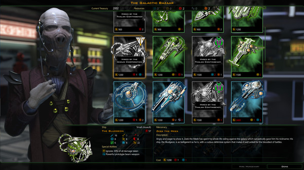 Galactic Civilizations III Mercenaries