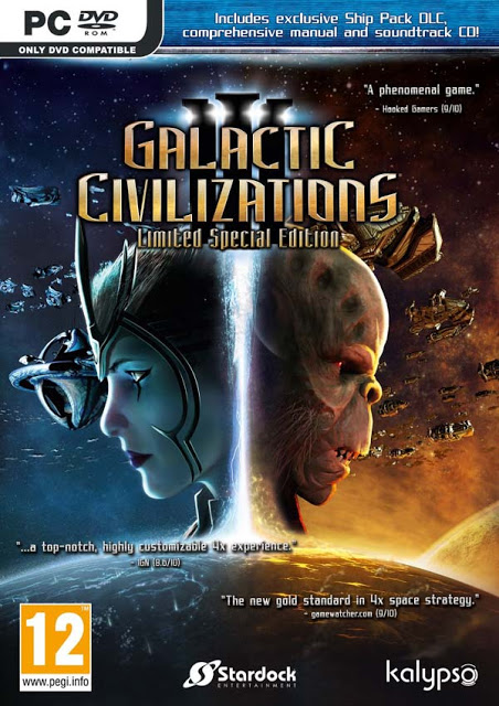 لعبة Galactic Civilizations III Mercenaries بكراك CODEX