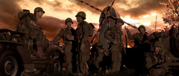 Brothers in Arms Hells Highway,Brothers,Highway,HELLS,ARMS,action,war,games,repack,Mechanics,العاب,اكشن,حرب,ريباك