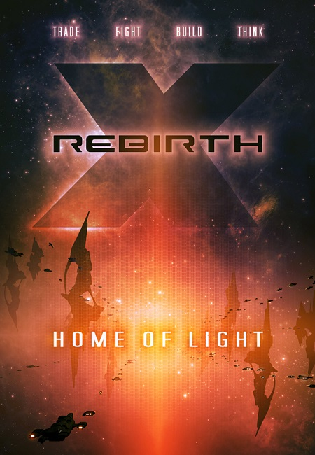 لعبة X Rebirth Home of Light بكراك CODEX