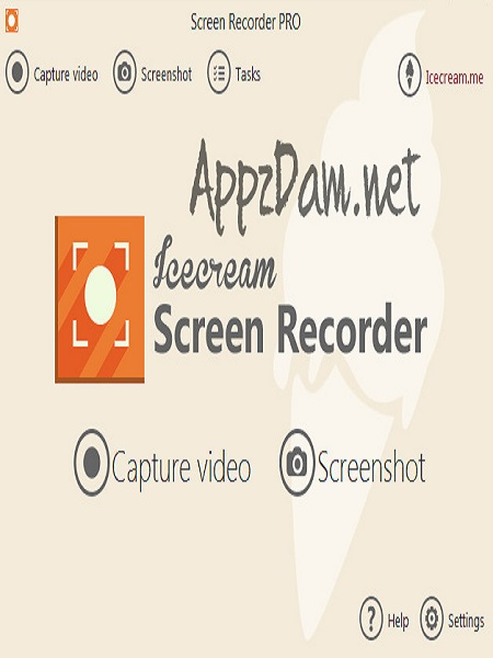 برنامج IceCream Screen Recorder Pro v3.30