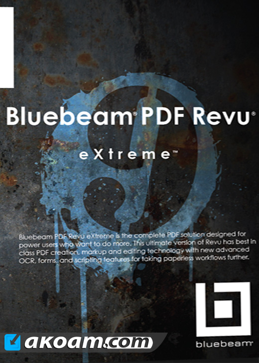 برنامج Bluebeam PDF Revu eXtreme 2016 v16.0 Multilingual