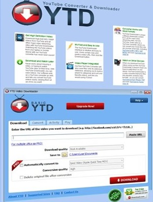 برنامج التحميل YouTube Video Downloader Pro 5.2.0.1
