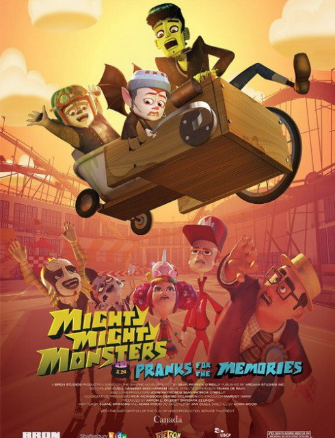 فيلم Mighty Mighty Monsters in Pranks for the Memories 2015 مترجم