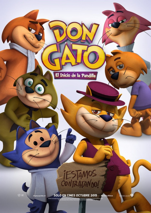 فيلم Top Cat Begins 2015 مترجم