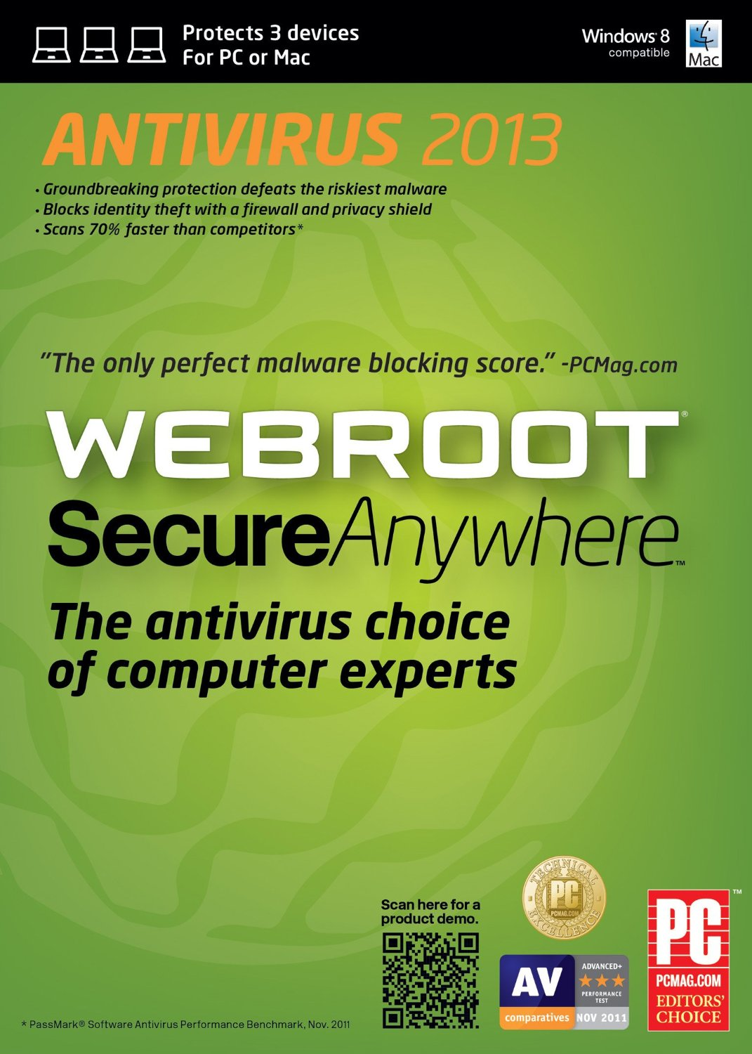 برنامج الحماية Webroot SecureAnywhere AntiVirus 9.0.8.72