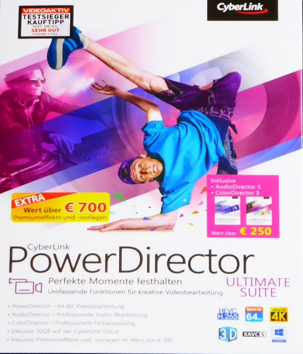 برنامج المونتاج CyberLink PowerDirector Ultimate 14.0.2707.0
