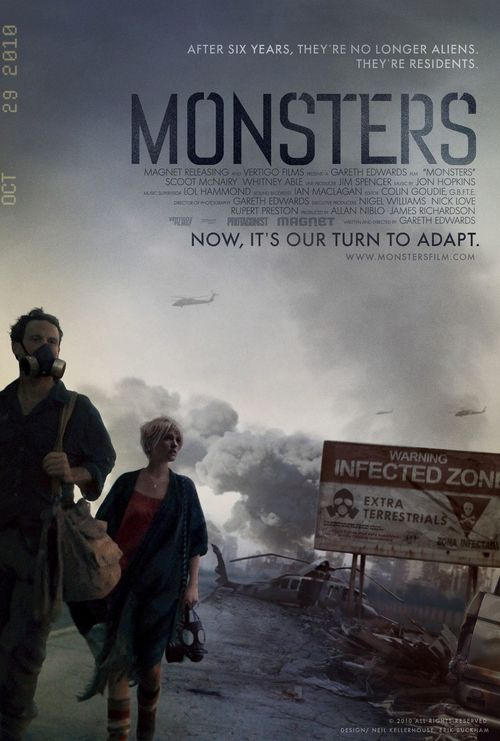 فيلم Monsters 2010 مترجم