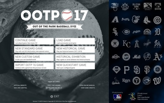 Park,Baseball,RELOADED,Out of the Park Baseball 17,sport,strategy,العاب,رياضية,استراتيجية,بيسبول