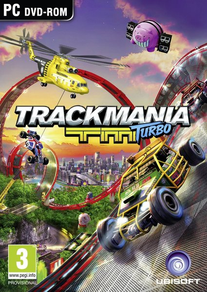 لعبة Trackmania Turbo بكراك CODEX