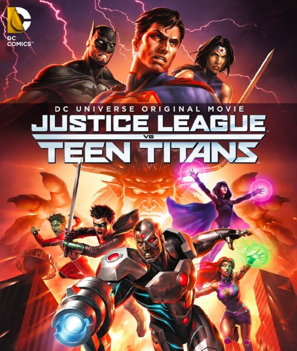 فيلم Justice League vs. Teen Titans 2016 مترجم