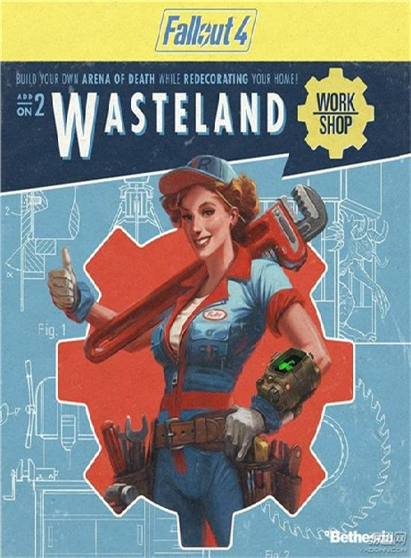 إضافة Fallout 4 Wasteland Workshop بكراك CODEX