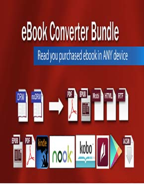 برنامج eBook Converter Bundle v3.17.405.389