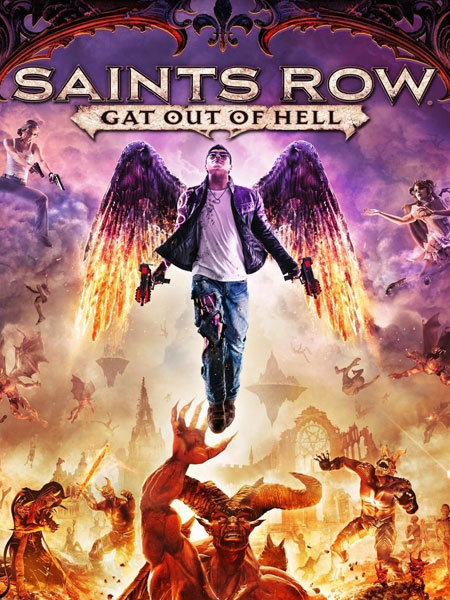 لعبة Saints Row Gat out of Hell ريباك فريق SEYTER