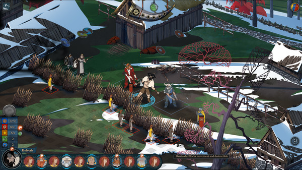 Banner,CODEX,Saga,STRATEGY,games,العاب,كاملة,استراتيجية,The Banner Saga 2,rpg,فانتازيا