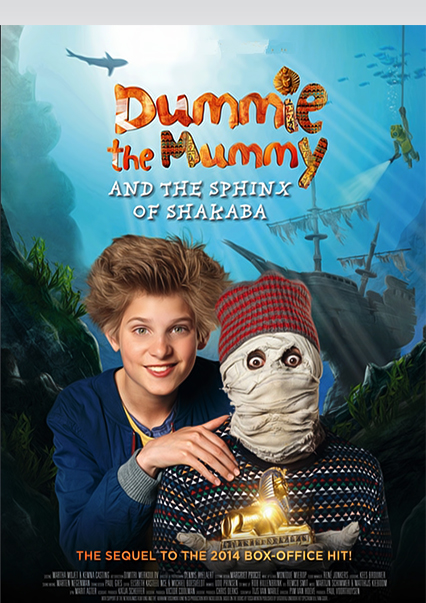 فيلم Dummie the Mummy and the Sphinx of Shakaba 2015 مترجم