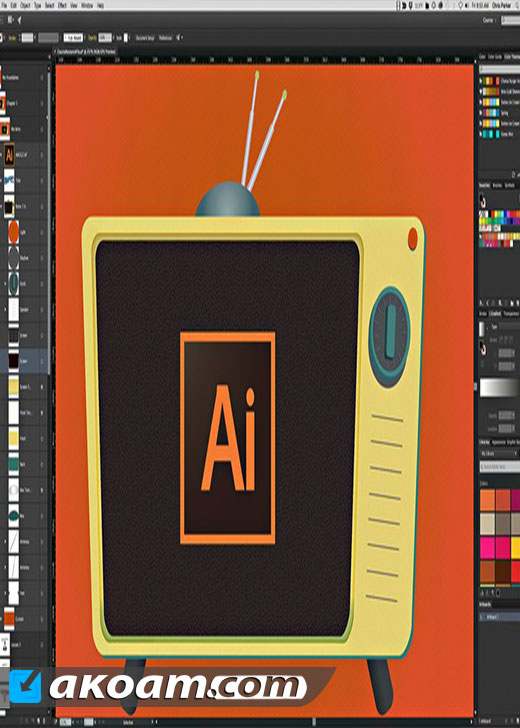 كورس Illustrator CC - Master Adobe Illustrator CC the Essentials