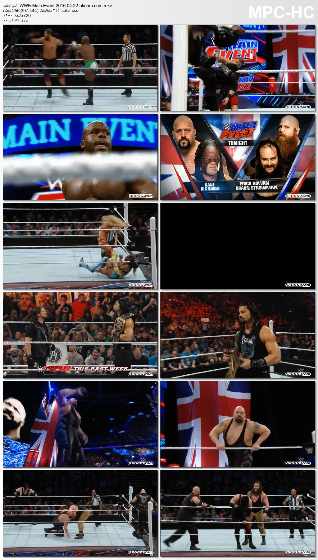 Main,Event,WWE Main Event,WWE