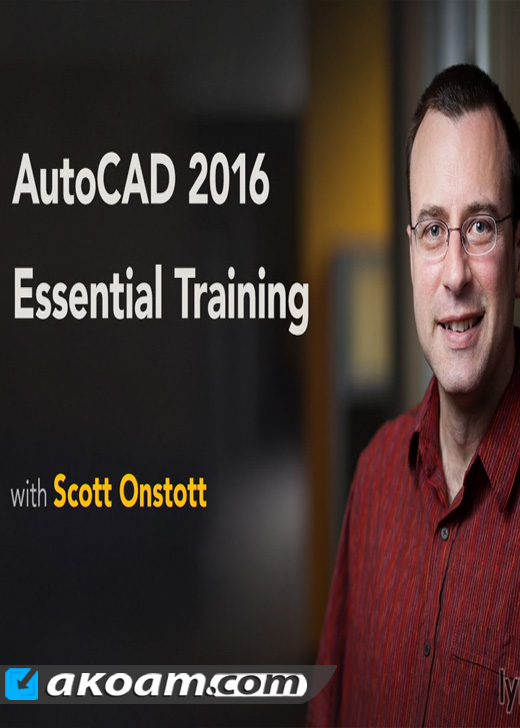 كورس lynda AutoCAD 2016 Essential Training