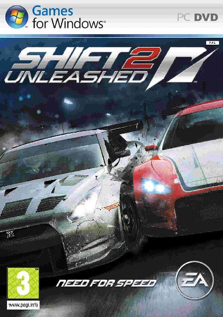 لعبة Need For Speed NFS Shift 2 Unleashed Limited Edition ريباك فريق Mr DJ