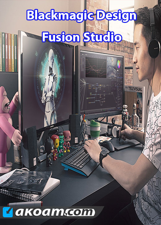 برنامج Blackmagic Design Fusion Studio v8.0 Build 18