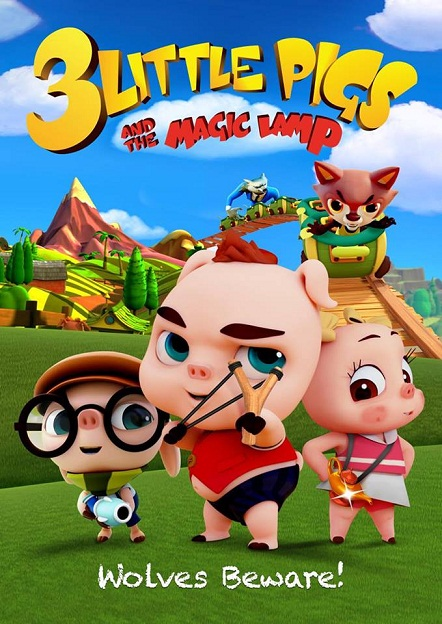فيلم 3LIttle Pigs and the Magic Lamp 2016 مترجم