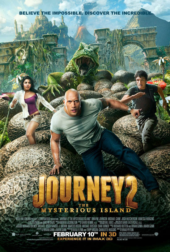 فيلم Journey 2: The Mysterious Island 2012 مترجم