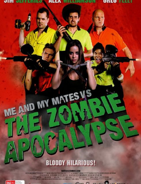 فيلم Me And My Mates Vs. The Zombie Apocalypse 2015 مترجم