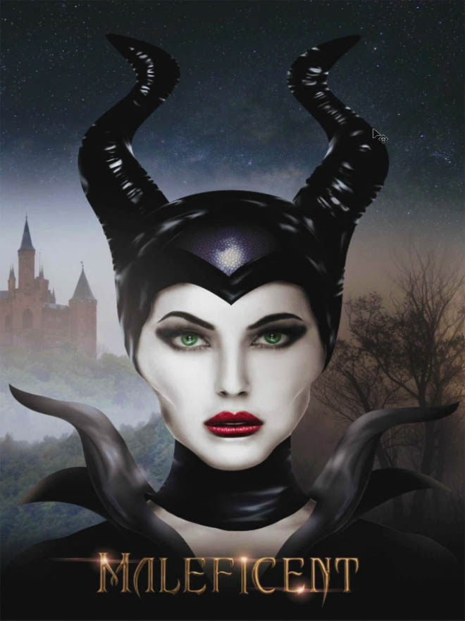 كورس Master FX - Maleficent Character Effects in Photoshop Tutorial