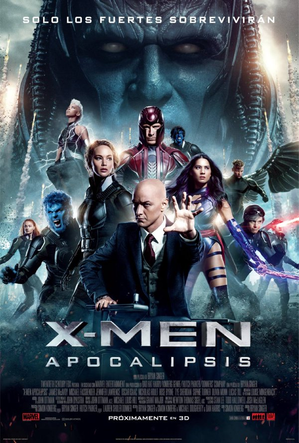 فيلم X-Men: Apocalypse 2016 مترجم CAM