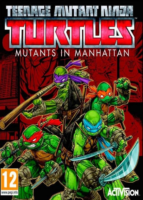 لعبة Teenage Mutant Ninja Turtles Mutants in Manhattan ريباك فريق FitGirl