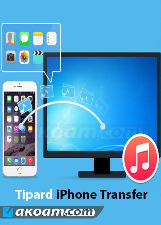 برنامج Tipard iPhone Transfer Ultimate v8.2.12