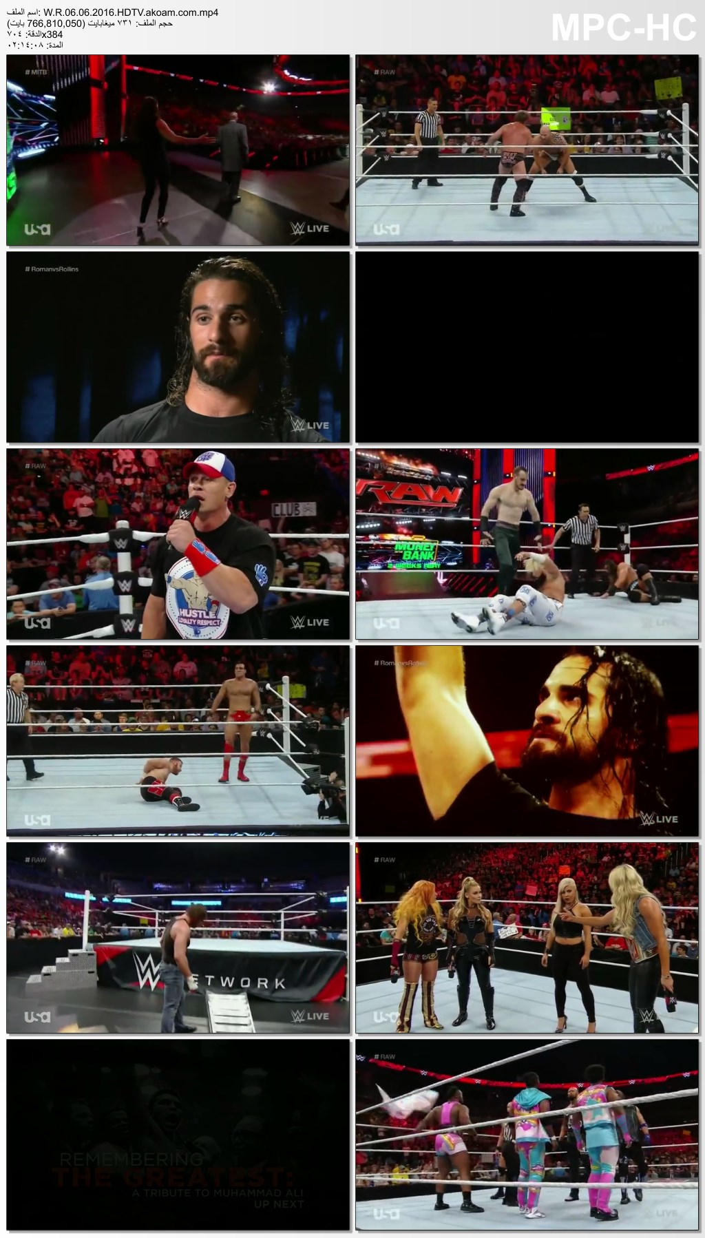 WWE Monday Night Raw,WWE,Raw,الرو