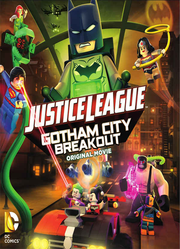 فيلم Justice League - Gotham City Breakout 2016 مترجم