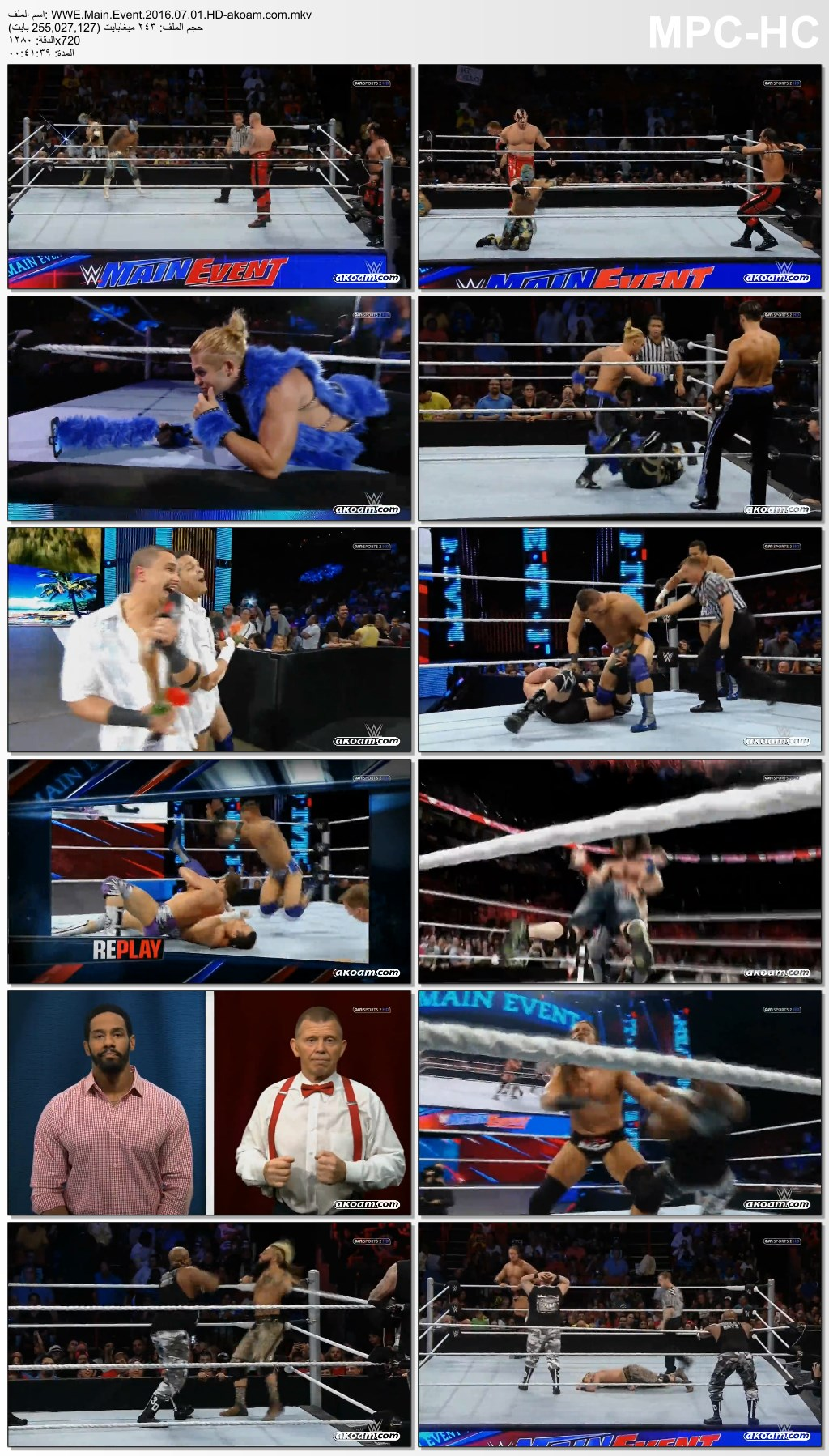 WWE Main Event,WWE,مصارعة