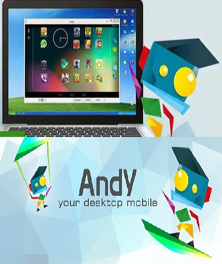 برنامج Andy OS Android Emulator 46.4.301