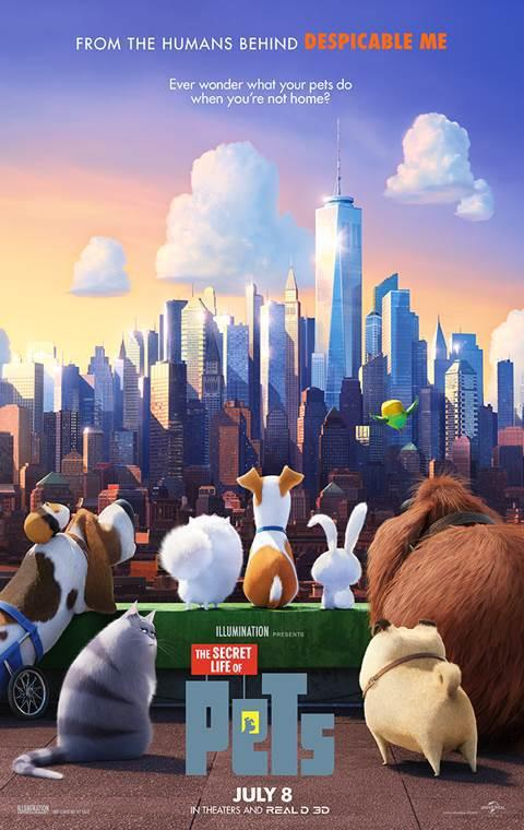 فيلم The Secret Life of Pets 2016 مترجم CAM