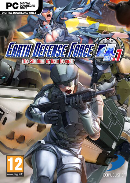 لعبة EARTH DEFENSE FORCE 4.1 The Shadow of New Despair بكراك CODEX