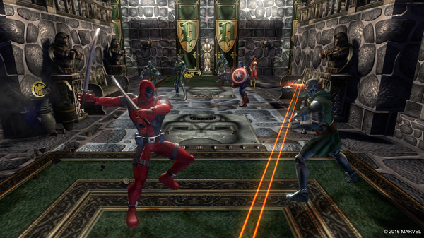 Alliance,Ultimate,Marvel,CODEX,العاب,مغامرة,اكشن,مارفيل,games,action,adventure,Marvel Ultimate Alliance