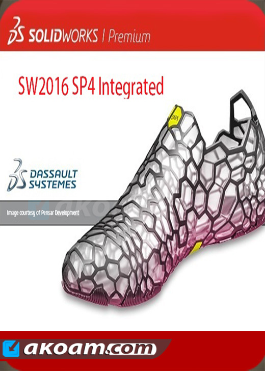 برنامج SolidWorks 2016 SP4 Full Multilanguage Integrated