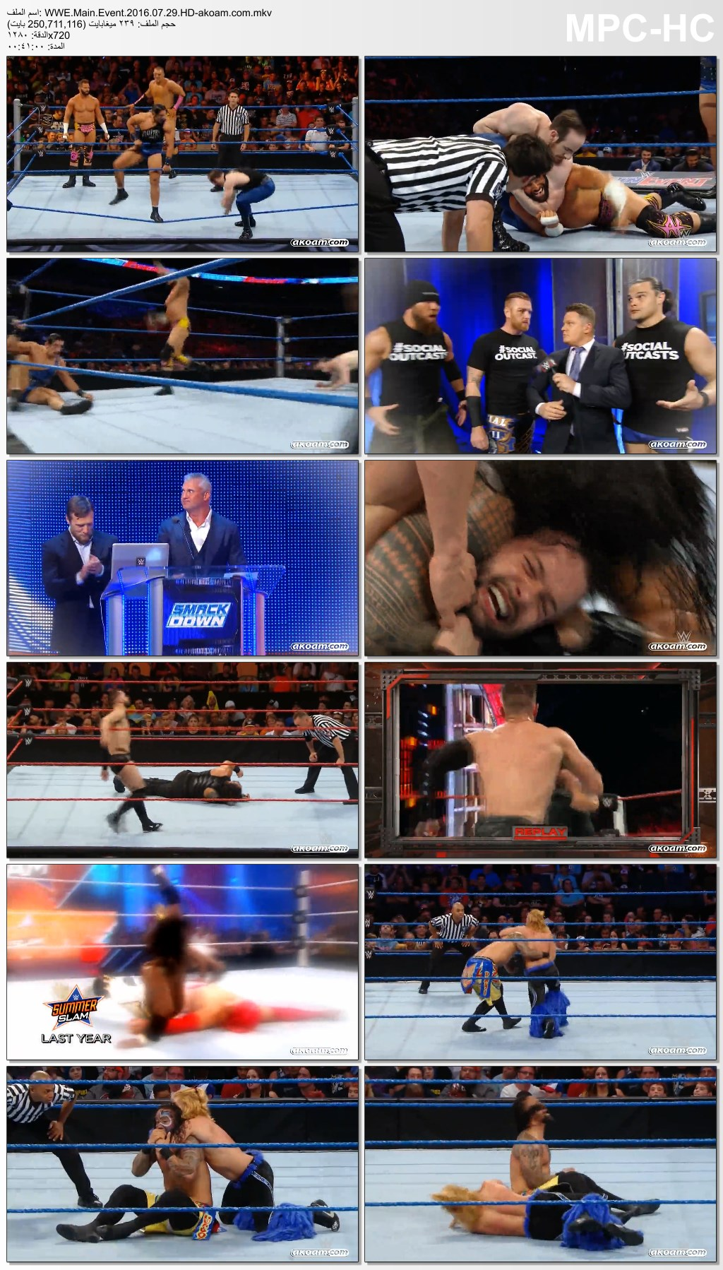 WWE Main Event,Main,Event,WWE