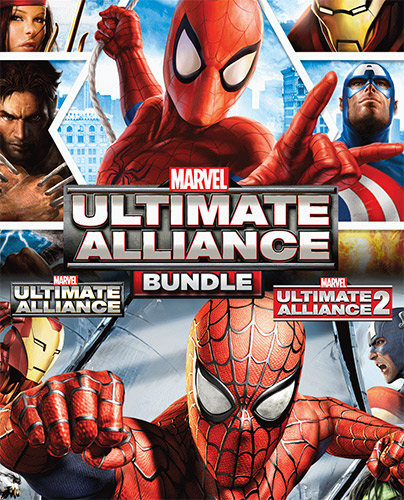 لعبة Marvel Ultimate Alliance Bundle 1&2 ريباك فريق FitGirl