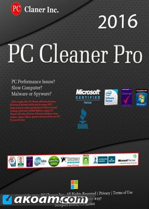 برنامج PC Cleaner Pro 2016 v14.0.16.8.4 Full