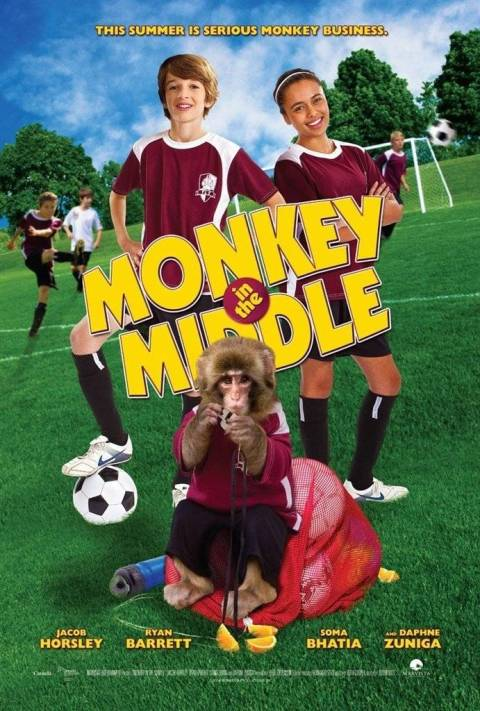 فيلم Monkey in the Middle 2014 مترجم