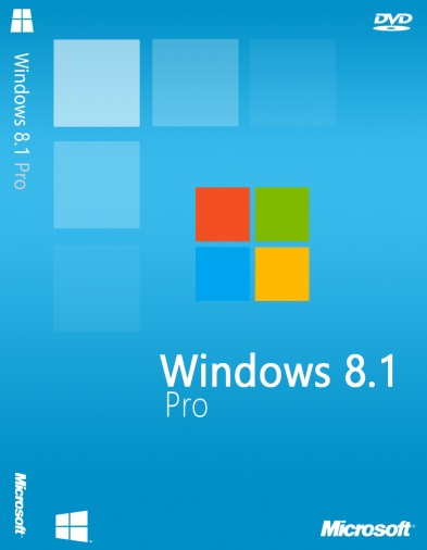 ويندوز Windows 8.1 Professional VL August 2016