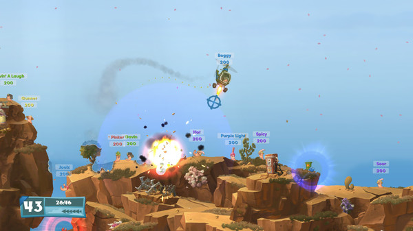Worms,CODEX,Worms WMD,action,strategy,adventure,games,العاب,اكشن,استراتيجية,خفيفة