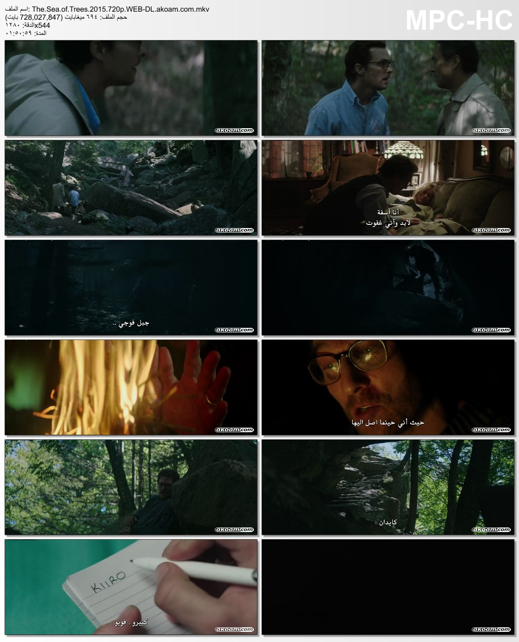 The Sea of Trees,الدراما