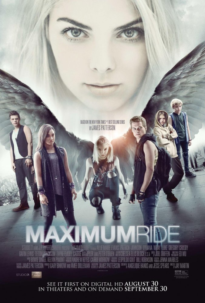 فيلم Maximum Ride 2016 مترجم