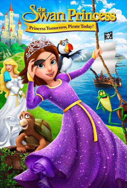 فيلم The Swan Princess Princess Tomorrow Pirate Today 2016 مترجم